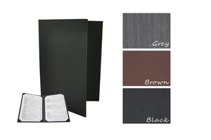 Menu Covers with Corner Pockets (Leather-like), Tabletop - eKitchenary