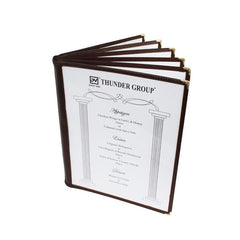 Menu Cover, 6 Page Book Fold (10 Pack)