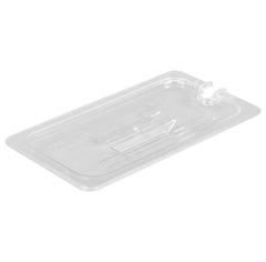 Thunder Group Clear Polycarbonate Third Size Food Pan