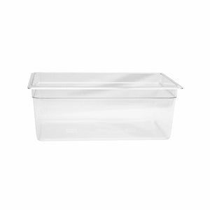 Thunder Group Clear Polycarbonate Full Size Food Pan, Polycarbonate - eKitchenary