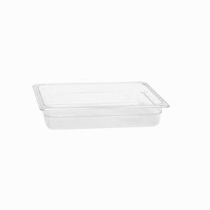 Thunder Group Clear Polycarbonate Half Size Food Pan, Polycarbonate - eKitchenary