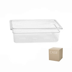 Thunder Group Clear Polycarbonate Half Size Food Pan (Case)
