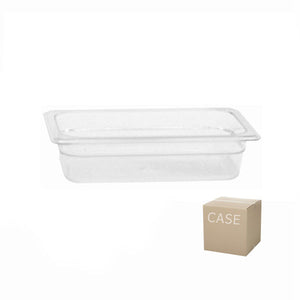 Thunder Group Clear Polycarbonate Fourth Size Food Pan (Case), Polycarbonate - eKitchenary