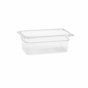Thunder Group Clear Polycarbonate Fourth Size Food Pan, Polycarbonate - eKitchenary