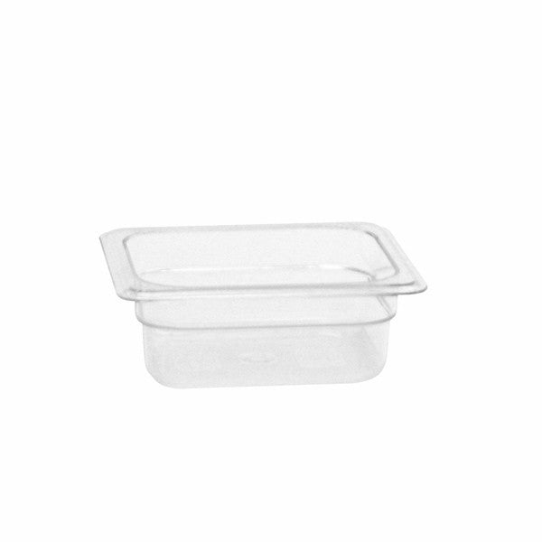Thunder Group Clear Polycarbonate Sixth Size Food Pan
