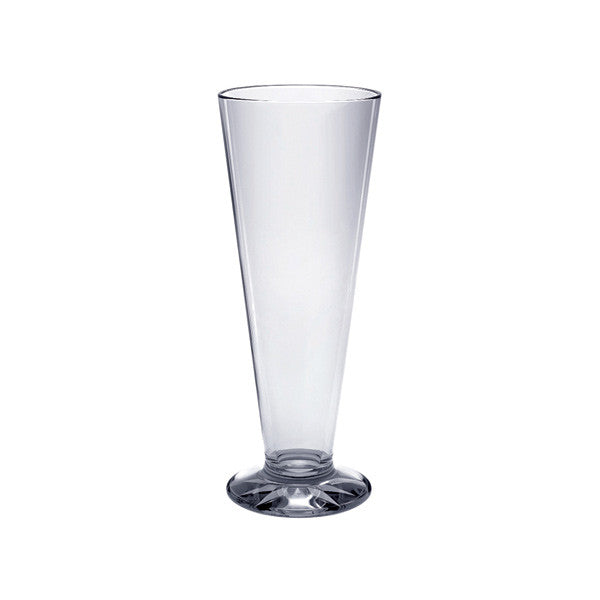 Polycarbonate Pilsner Glasses (12 Pack), Tabletop - eKitchenary