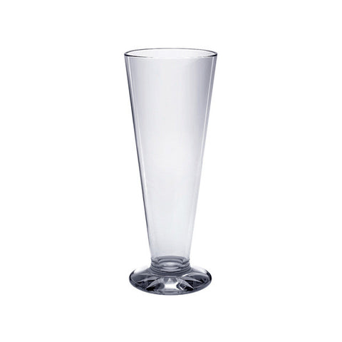 Polycarbonate Pilsner Glasses (12 Pack)
