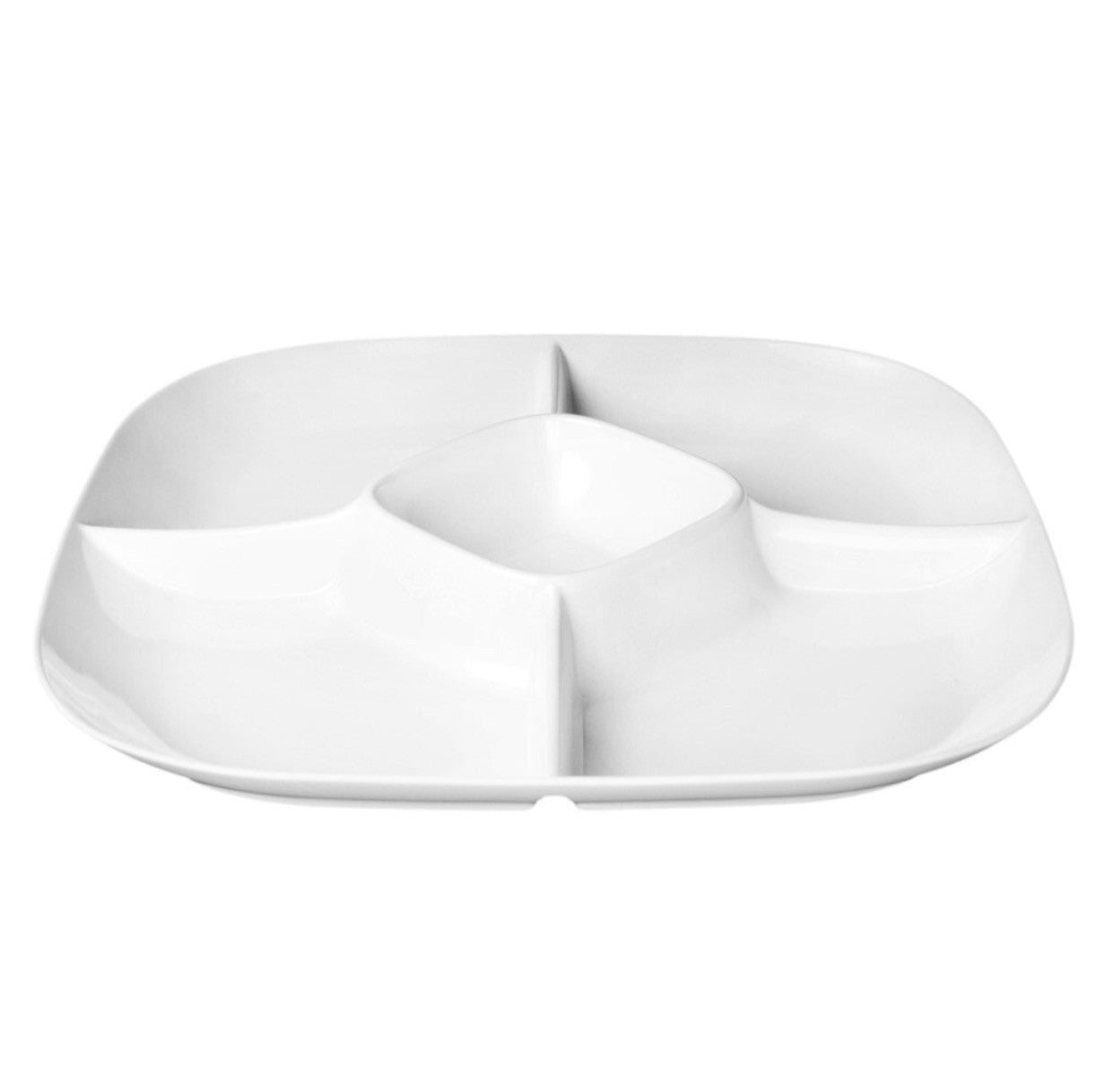 Melamine Passion Divided Section Tray (6 Pack), Melamine - eKitchenary