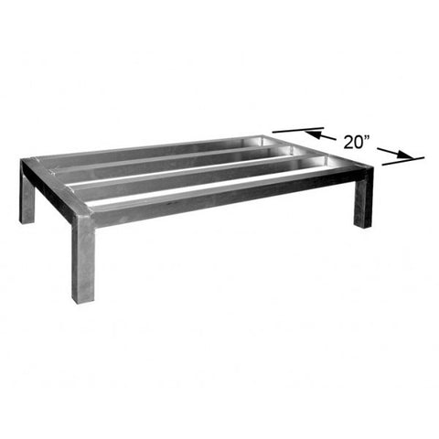 All Welded Aluminum Dunnage Racks,  - eKitchenary