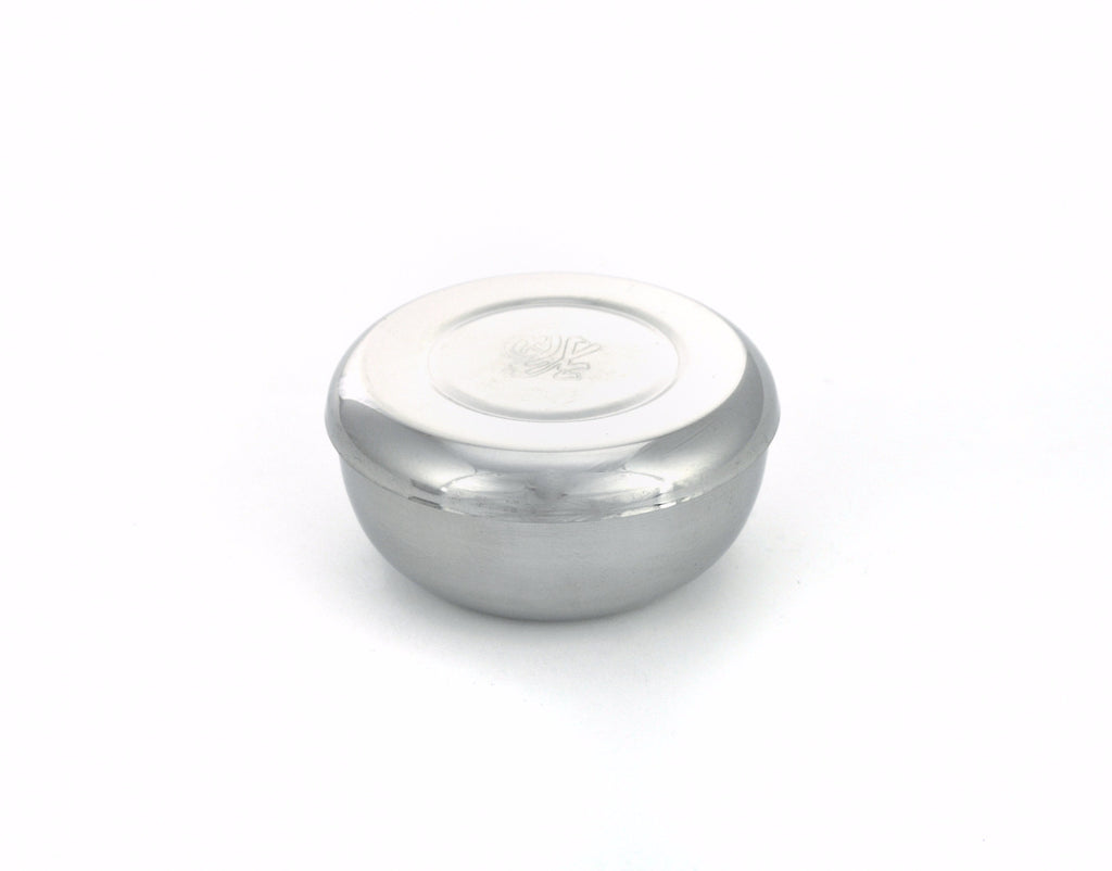 Stainless Steel Rice Bowl with Lid (Case-10pcs)
