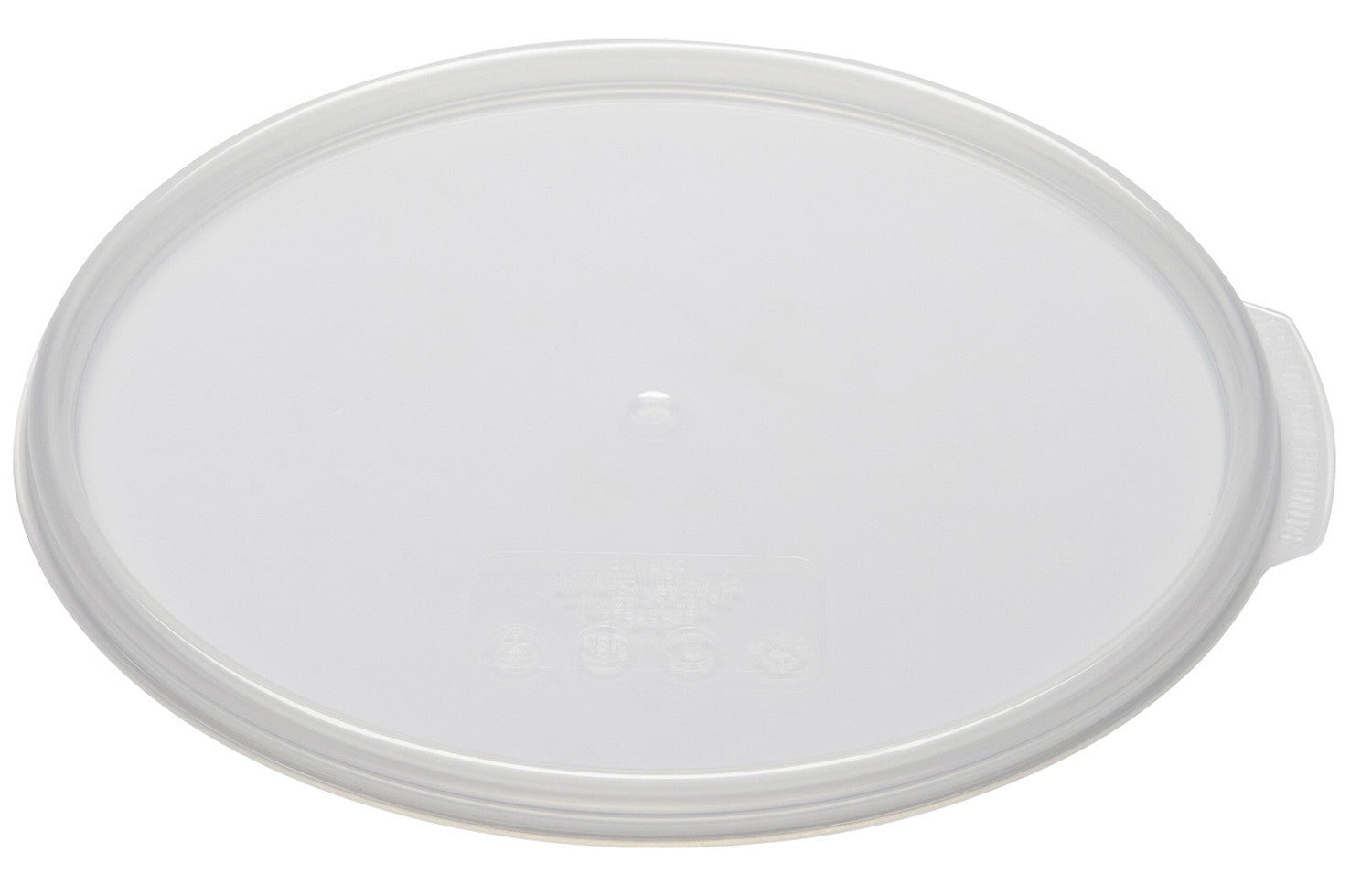 Cambro Round Clear Container, Food Container - eKitchenary