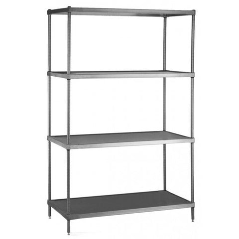 Solid Stainless Steel Shelving, Equipment - eKitchenary