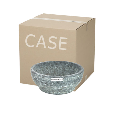 Korean Stone Bowl, Dolbibimgi 돌비빔기 (Case-10pcs), Stone - eKitchenary