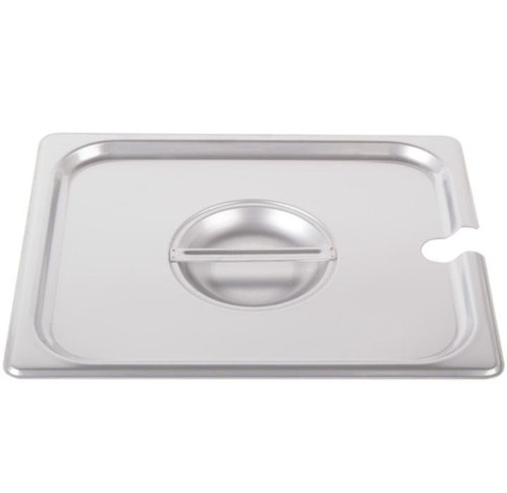 Thunder Group Stainless Steel Steam, Food, and Hotel Pan 1/2 Size Perforated, Stainless Steel - eKitchenary