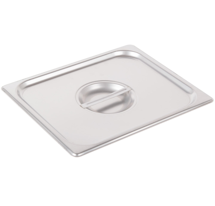 Thunder Group Stainless Steel Steam, Food, and Hotel Pan 1/2 Size (Case), Stainless Steel - eKitchenary