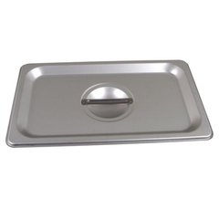 Thunder Group Stainless Steel Steam, Food, and Hotel Pan 1/4 Size (Case)