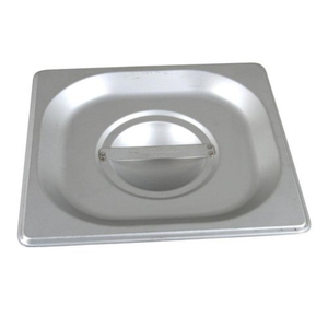 Thunder Group Stainless Steel Steam, Food, and Hotel Pan 1/6 Size (Case), Stainless Steel - eKitchenary