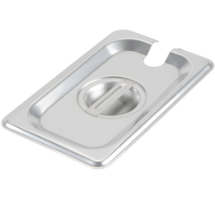 Thunder Group Stainless Steel Steam, Food, and Hotel Pan 1/9 Size (Case)
