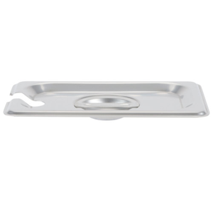 Thunder Group Stainless Steel Steam, Food, and Hotel Pan 1/9 Size (Case), Stainless Steel - eKitchenary
