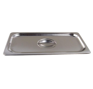 Thunder Group Stainless Steel Steam, Food, and Hotel Pan 1/9 Size, Stainless Steel - eKitchenary