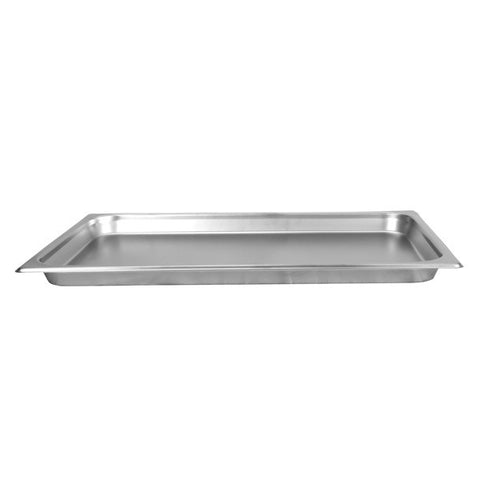 Thunder Group Stainless Steel Steam, Food, and Hotel Pan Full Size, Stainless Steel - eKitchenary