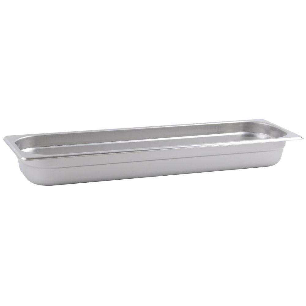 Thunder Group Stainless Steel Steam, Food, and Hotel Pan Half Size Long, Stainless Steel - eKitchenary