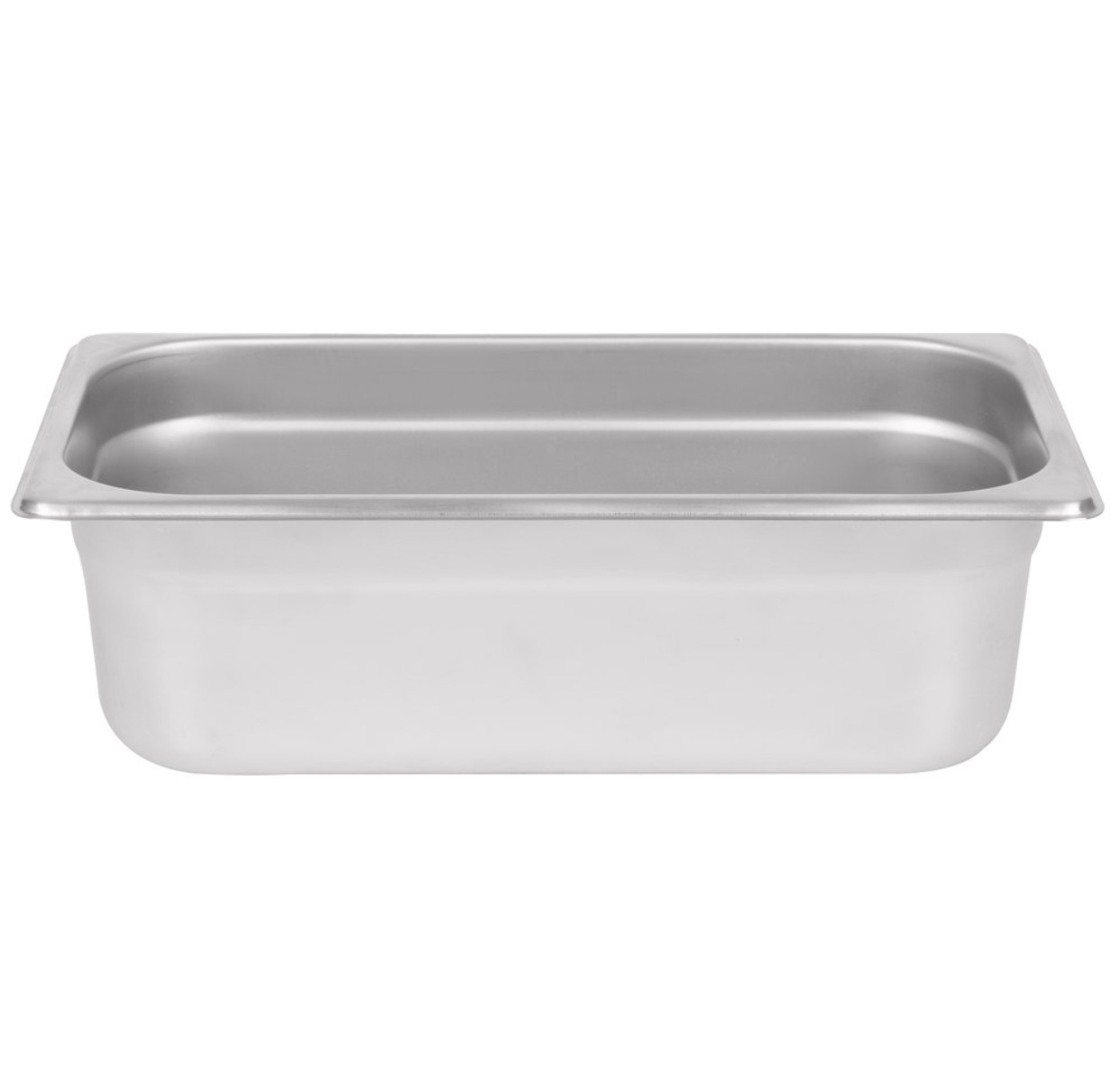 Thunder Group Stainless Steel Steam, Food, and Hotel Pan 1/3 Size, Stainless Steel - eKitchenary
