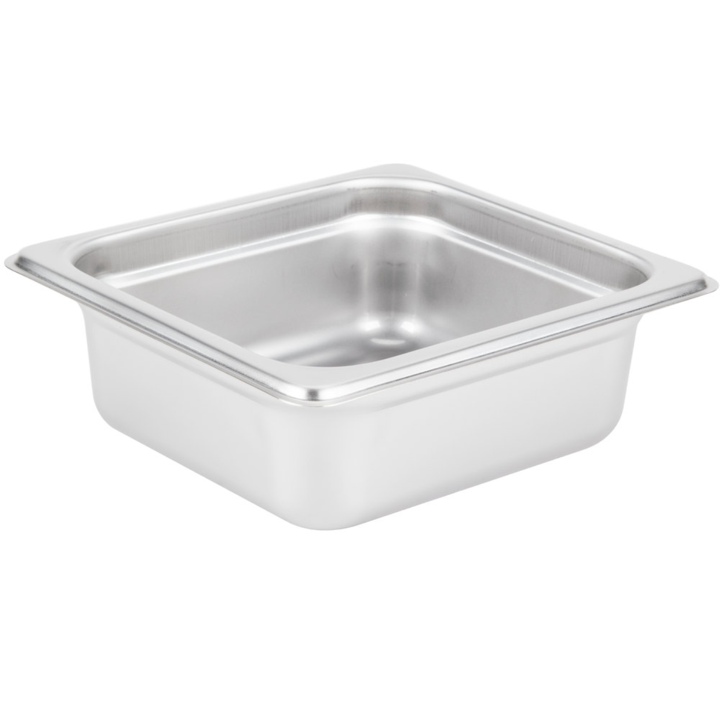 Thunder Group Stainless Steel Steam, Food, and Hotel Pan 1/6 Size (Case)