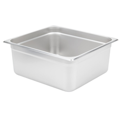 Thunder Group Stainless Steel Steam, Food, and Hotel Pan 2/3 Size