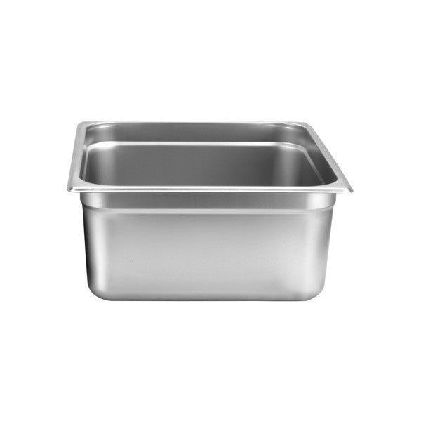 Thunder Group Stainless Steel Steam, Food, and Hotel Pan 2/3 Size, Stainless Steel - eKitchenary