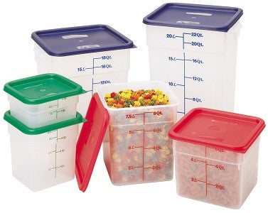 Cambro Square Translucent Container (Case-6pcs), Food Container - eKitchenary