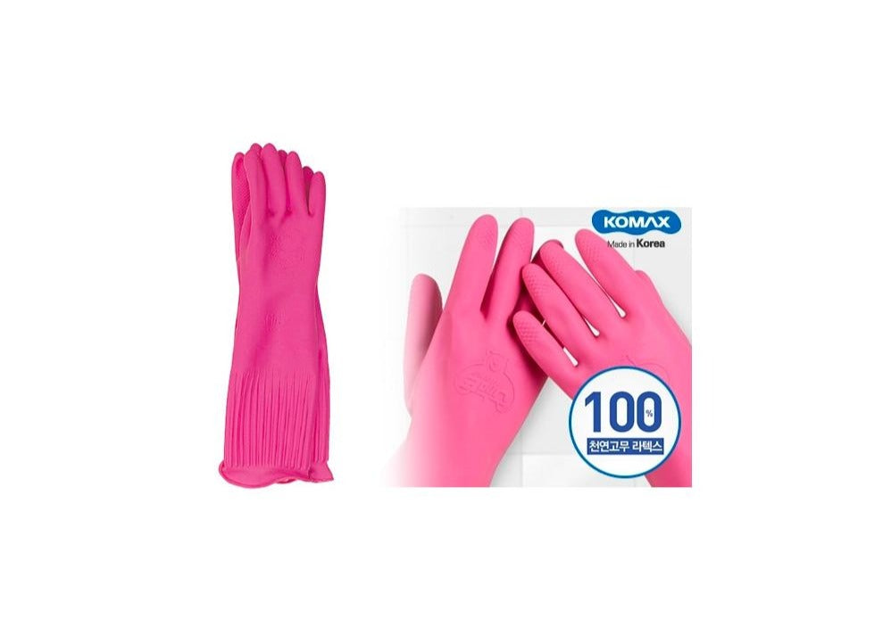 Komax Rubber Kitchen Gloves 코멕스 고무장갑