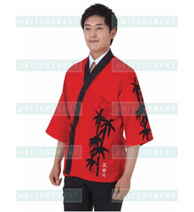 Sushi Chef Coat, Polyester Blend