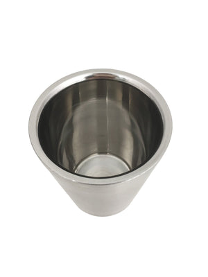 Stainless Steel Double Wall Cup, Stainless Steel - eKitchenary