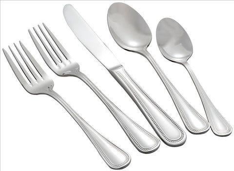 Deluxe Pearl Flatware, Tabletop - eKitchenary