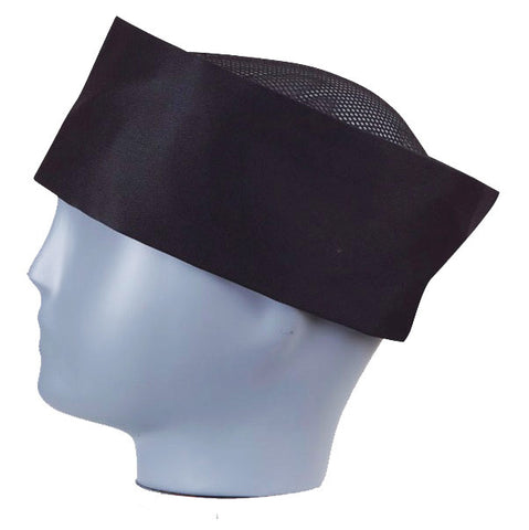 Sushi Chef Perforated Skull Cap, Chef Coat - eKitchenary