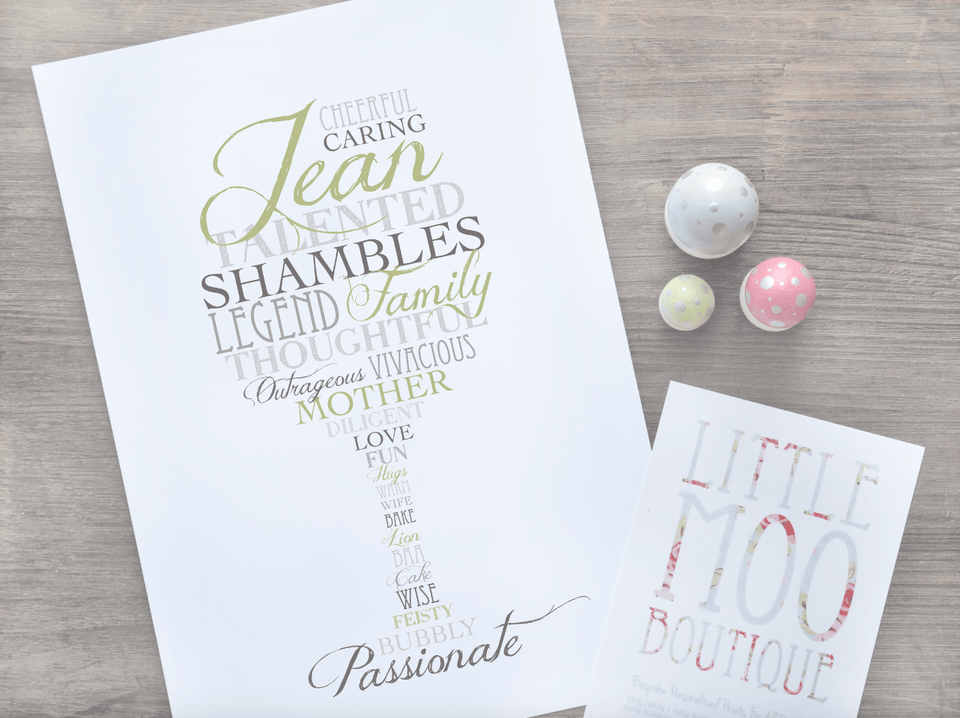 Personalised Birthday & Sentimental Prints