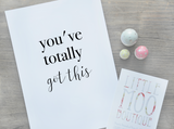 You've Totally Got This Print | Little Moo Boutique