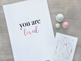 You Are Loved Print | Little Moo Boutique