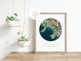 Personalised My Happy Place Print