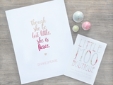 She is fierce print | Little Moo Boutique