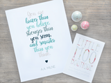 Winnie the Pooh Quote | Little Moo Boutique
