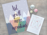 Kid, You'll Move Mountains | Little Moo Boutique