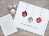 Personalised Baubles Print-Little Moo Boutique