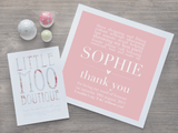 Personalised Thank You Bridesmaids Print-Little Moo Boutique
