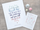 Roald Dahl 'The Twits' Print-Little Moo Boutique