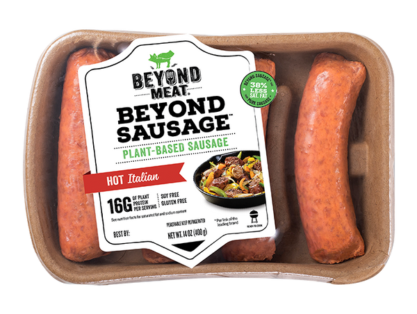 Beyond Meat Sausage, Sweet Italian