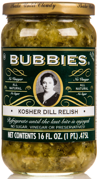 Bubbies Kosher Dill Relish