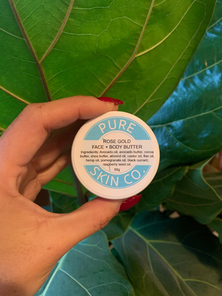 Pure Skin Co. Rose Gold Face (+ Body) Butter