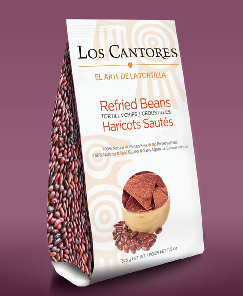 Los Cantores Refried Bean Chips